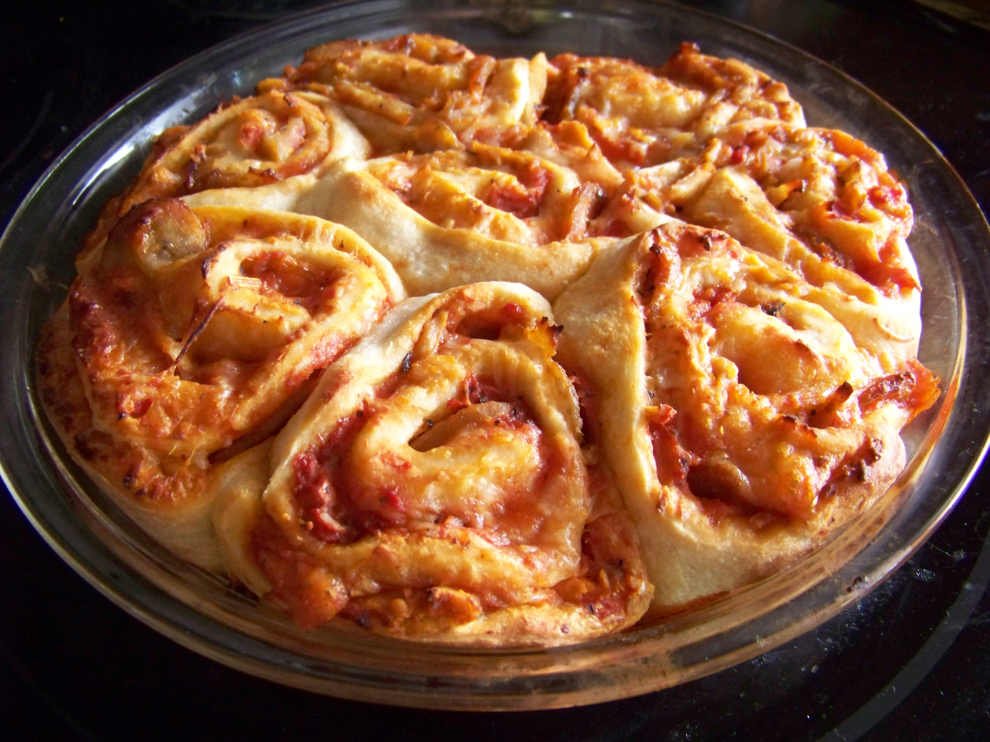 Pizza Pinwheels Recipe — Dishmaps