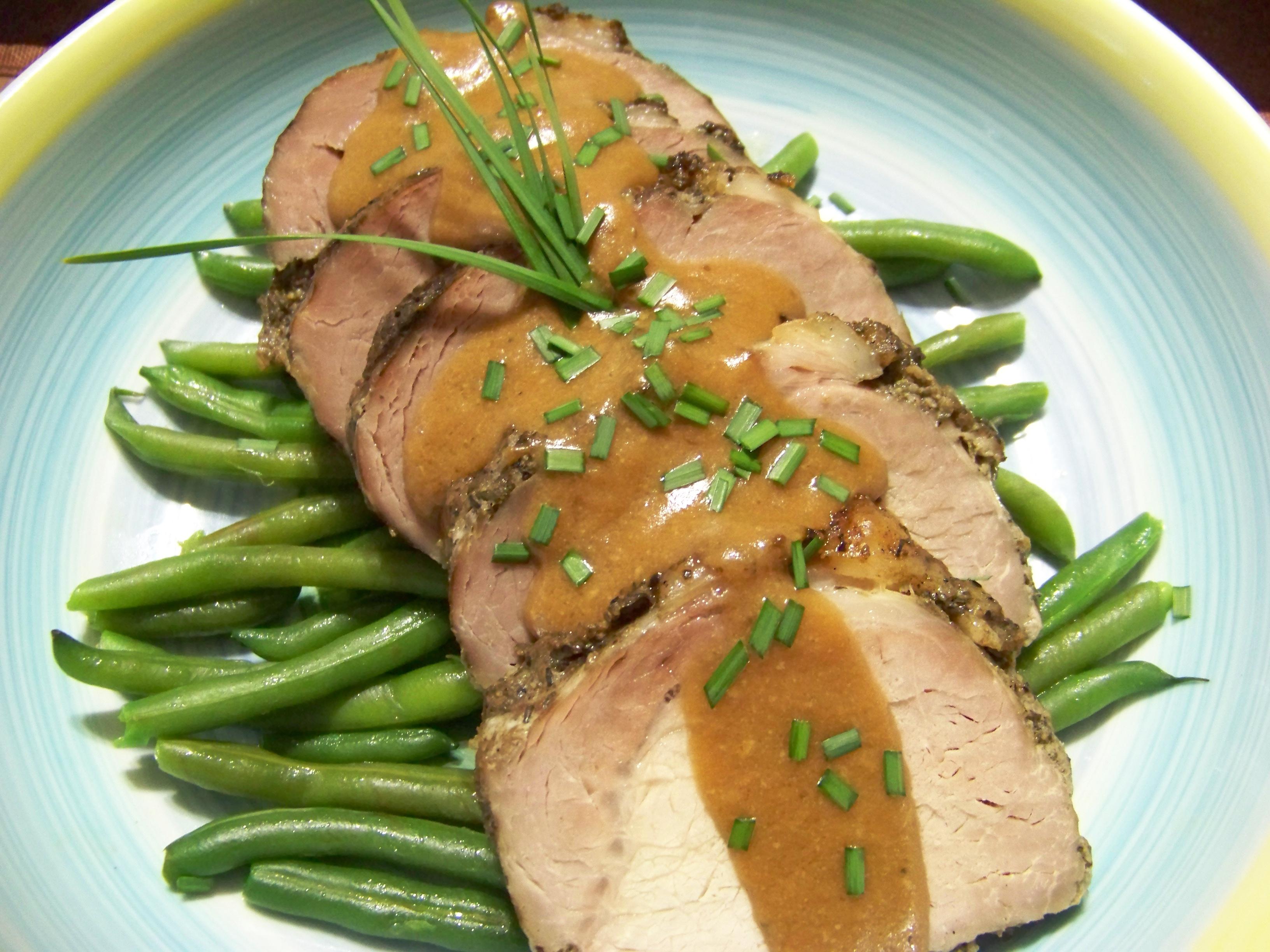 French recipe for pork tenderloin