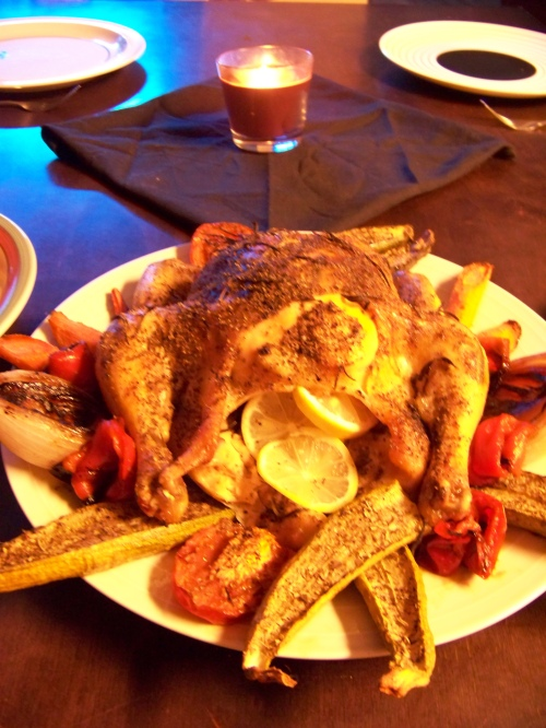 Peppered Lemon Rosemary Chicken