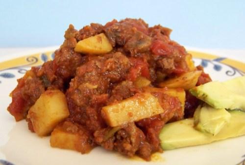 peruvian chile spice - guisado
