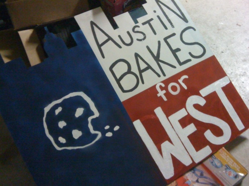 Austin Bakes for West 2013