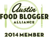 2014 Austin Food Blogger Alliance Member