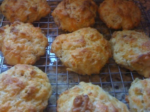 Bacon Cheese Scones