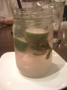 Prickly Pear Mojito (Jack Allen's Kitchen, Round Rock)
